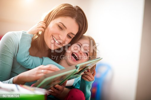 istock Mother and little daughter 507838704