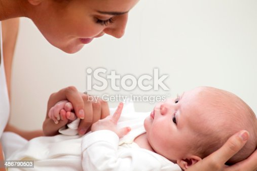istock Mother and New Born 486790503