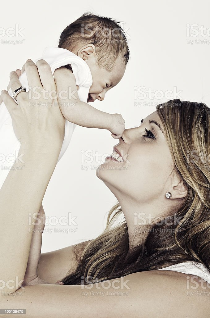 Mother and Newborn royalty-free stock photo