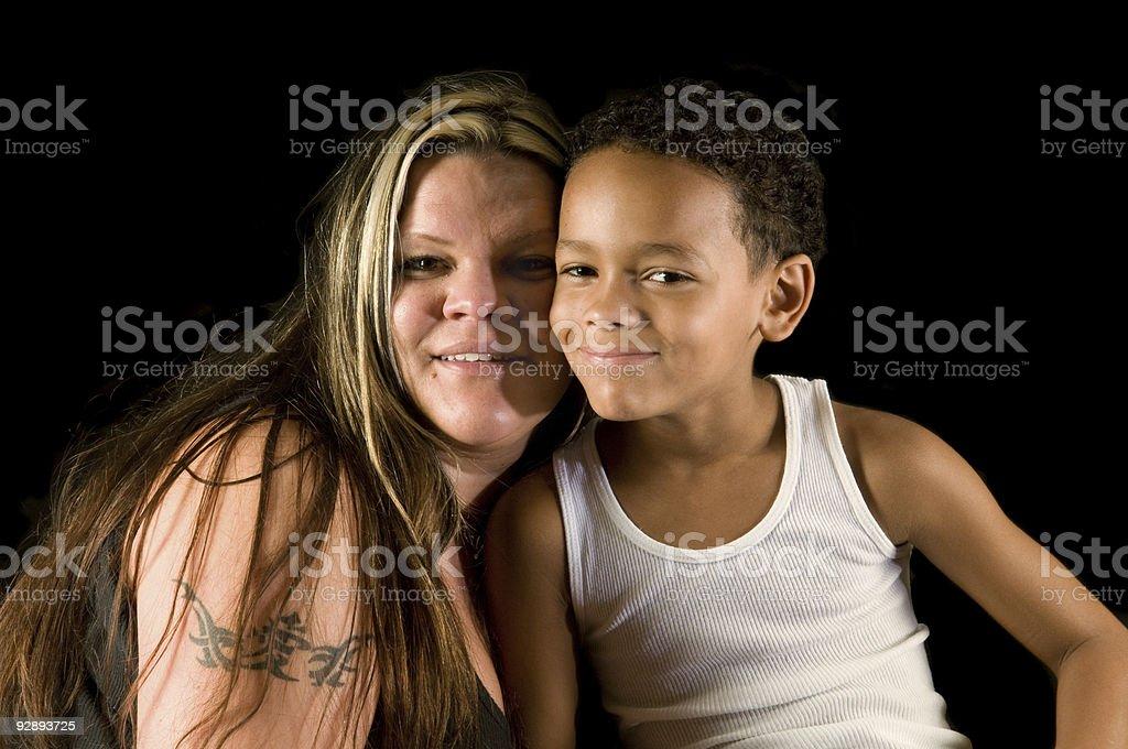 Mère et fils, une équipe - Photo
