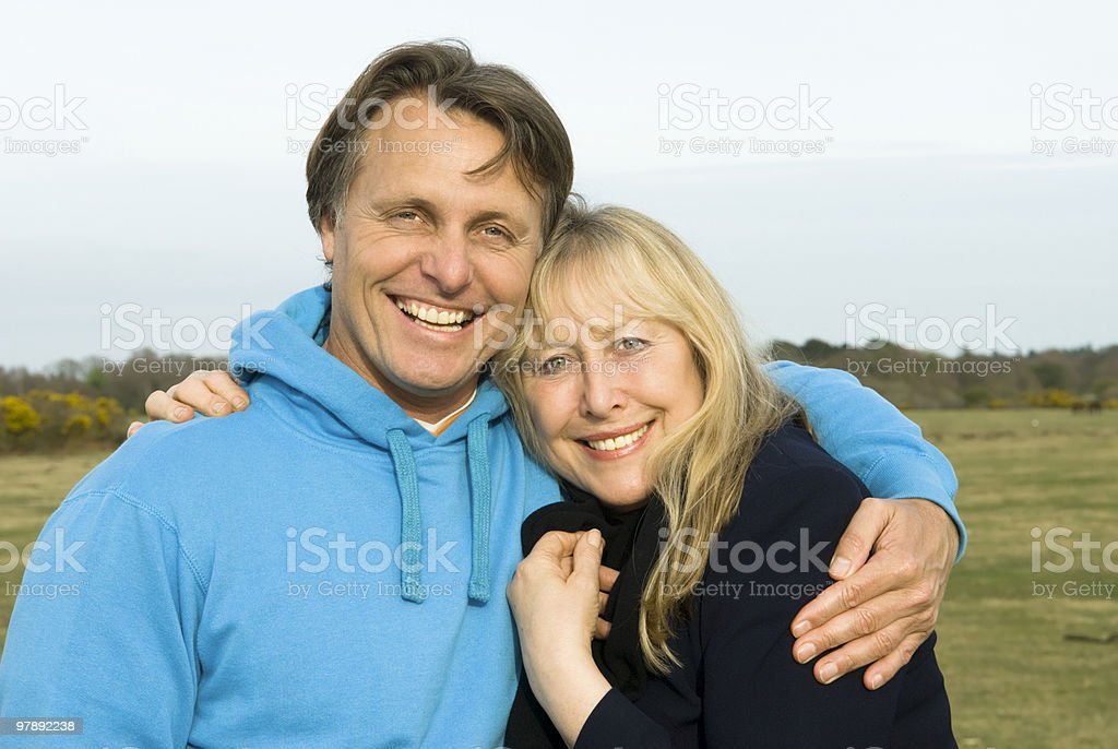 Mother and son embracing. royalty-free stock photo