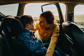 istock Mother and son enjoying 1173816454