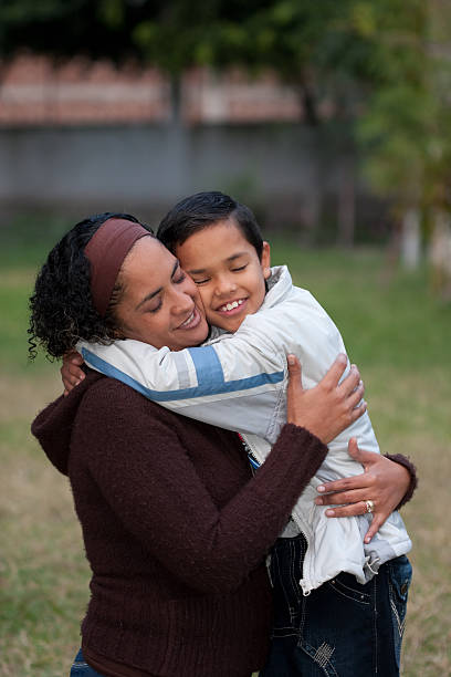 Mãe e filho - foto de acervo