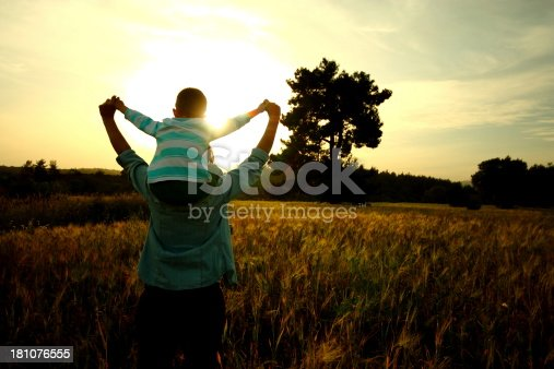 istock Mother and son 181076555