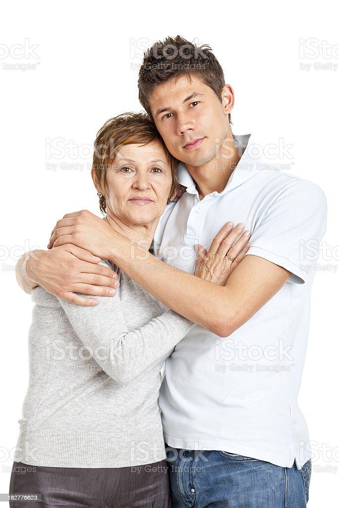 Mutter und Sohn – Foto
