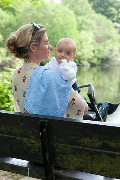 mother and son - double_p stockfoto's en -beelden