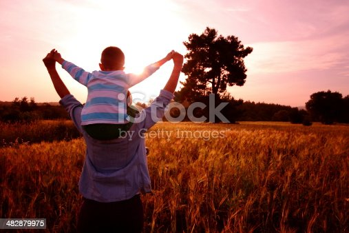 istock Mother and son 482879975