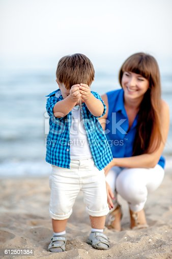 istock Mother and son. 612501384