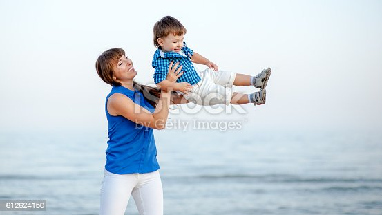 istock Mother and son. 612624150