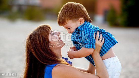 istock Mother and son. 612626874