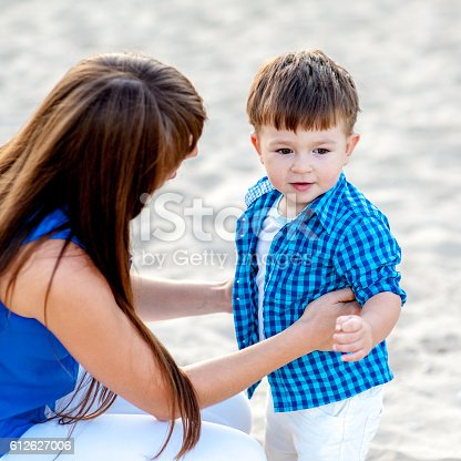 istock Mother and son. 612627006