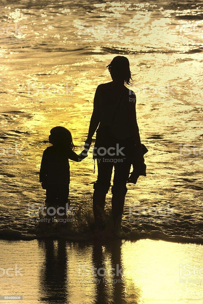 Madre e figlio foto stock royalty-free