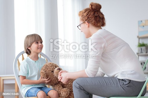 istock Mother and son relationship 868923346