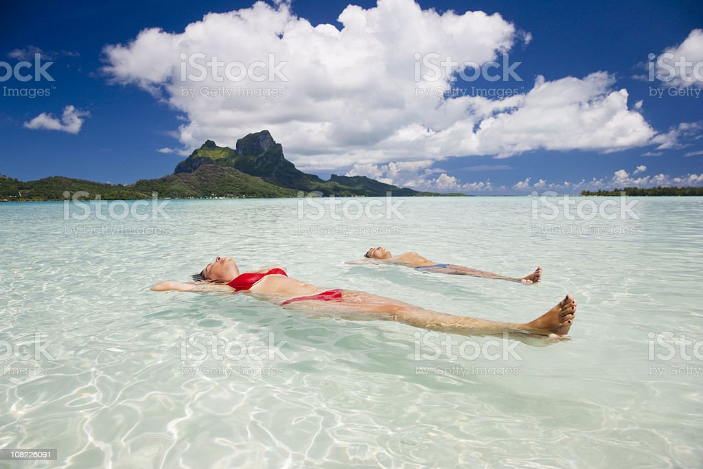 Mother and Son Relaxing Together royalty-free stock photo