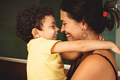 istock Mother and son with love. 959720240