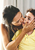 istock Mother and son with love. 960647658