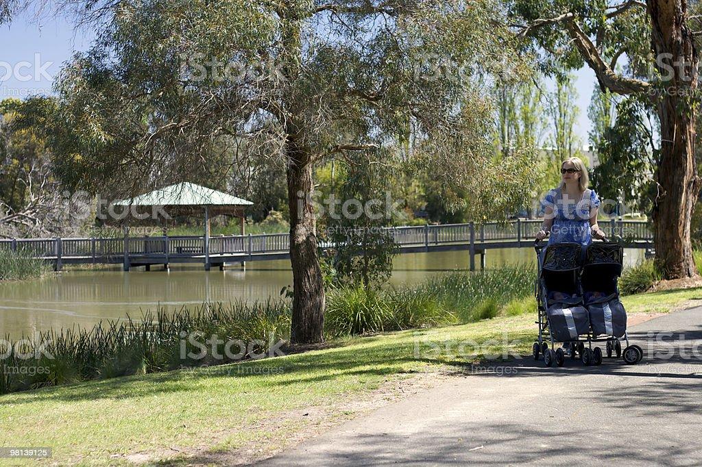 구슬눈꼬리, 트윈스 at the Park royalty-free 스톡 사진