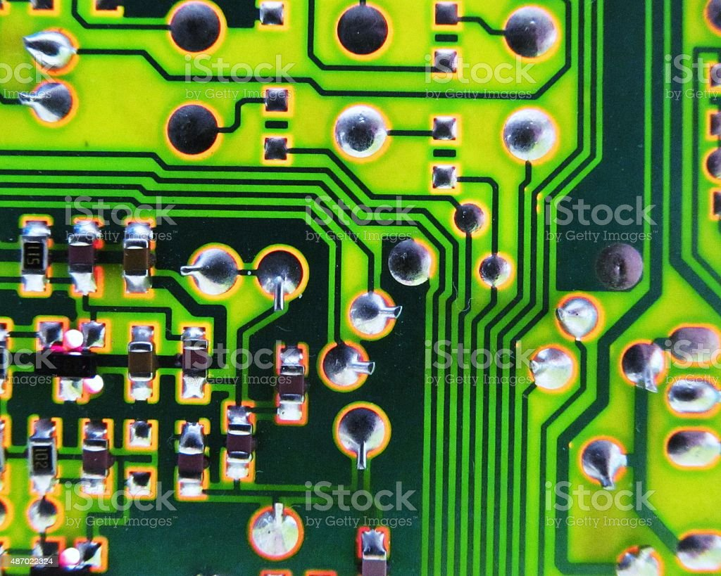 Mother board stock photo