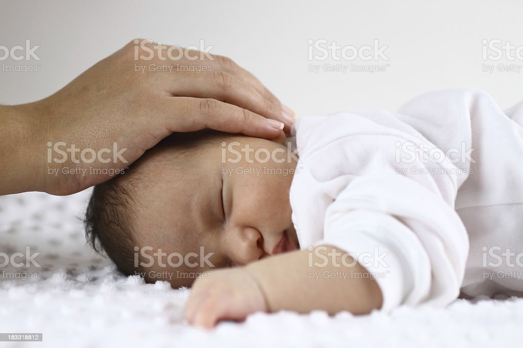 Mother care royalty-free stock photo