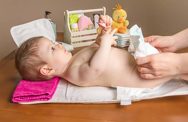 Mother changing diaper of adorable baby picture id481879097?b=1&k=6&m=481879097&s=612x612&w=0&h=7f6kaeakuzalawal xbr txcdwnfevwj8zcyojxv07o=