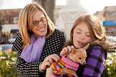 istock Mother, Daughter and Dog 184945581