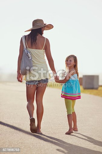 135384905 istock photo mother daughter holding hands 527858753