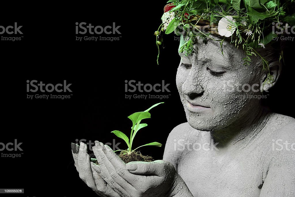 Mother earth royalty-free stock photo