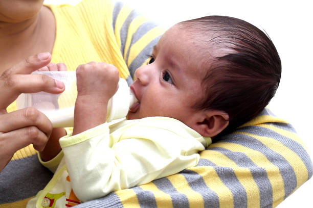 bottle feeding a baby the right way