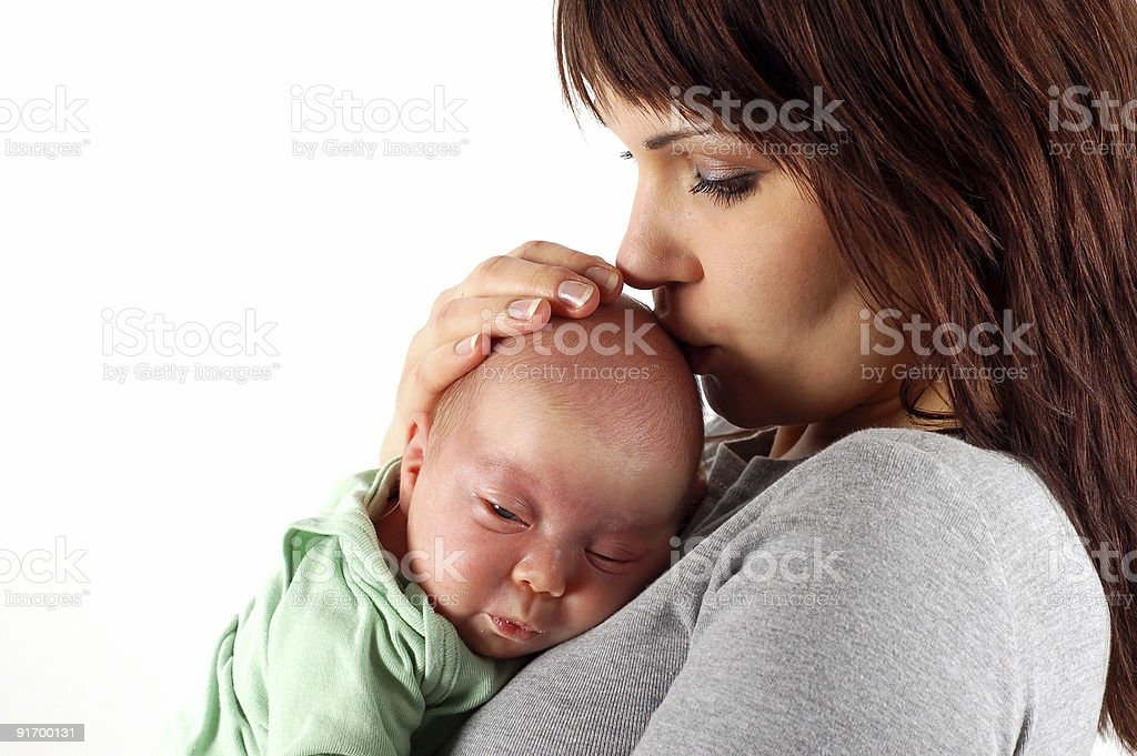 Mutter holding baby – Foto