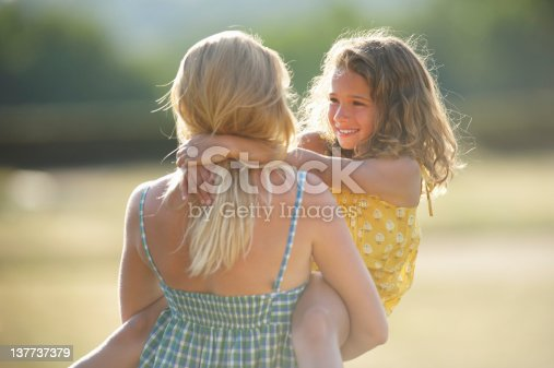 466231012istockphoto Mother holding daughter outdoors 137737379