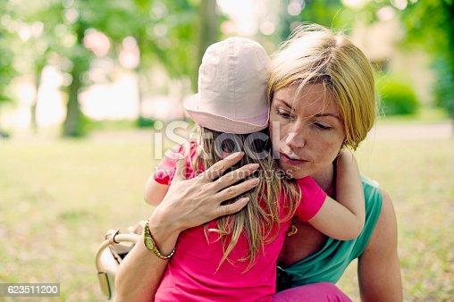 istock Mother Hugs Her Daughter Emotionally 623511200