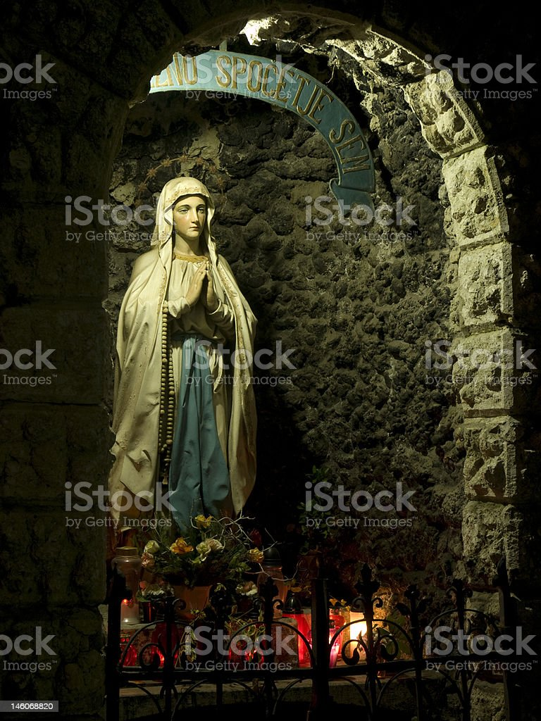 Mother Mary royalty-free stock photo