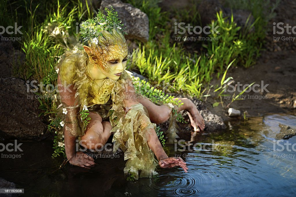 Mother Nature's Healing Touch royalty-free stock photo