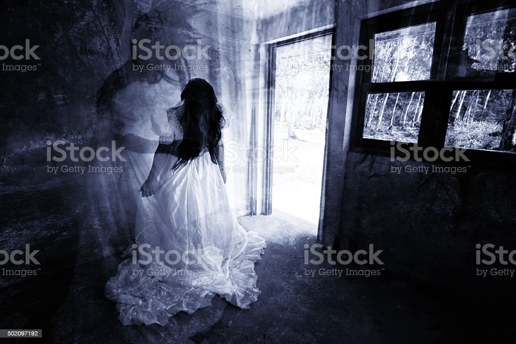 Mother Never Let Me Go stock photo