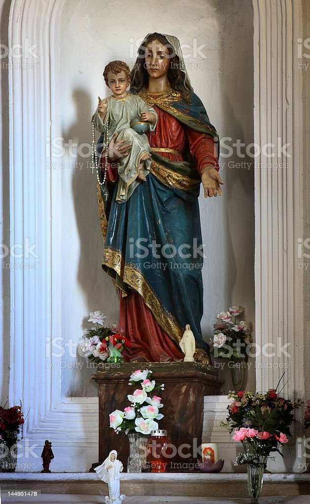 Mother of God royalty-free stock photo