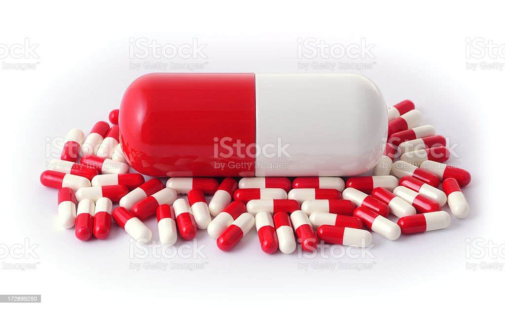 mother pill stock photo