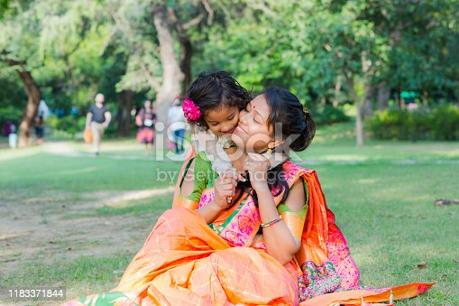 Portrait, Time, Mother, Indian, family, Real People,