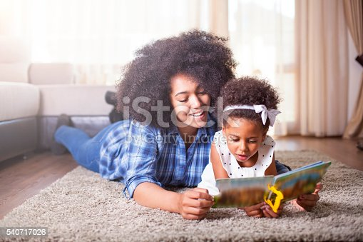 family, carpet, book, reading, hone