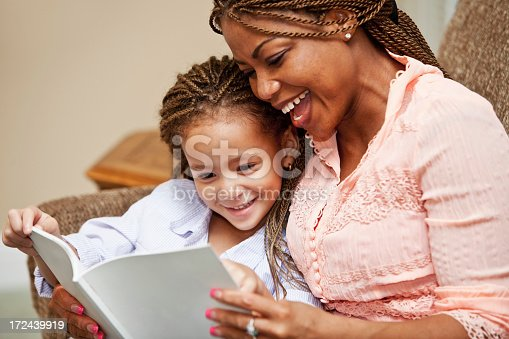 istock Mother reading to daughter 172439919