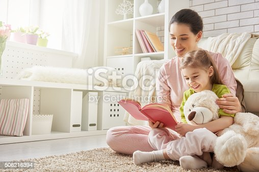istock mother reading to daughter 506216394