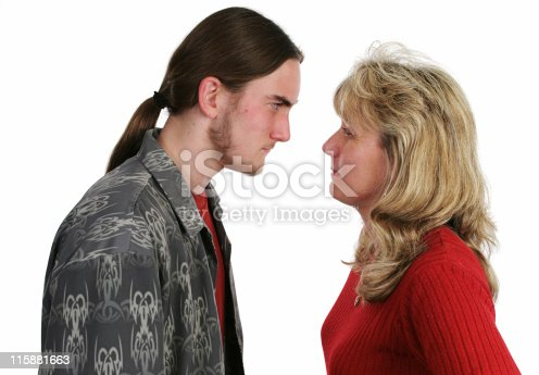 istock Mother Son Confrontation 115881663