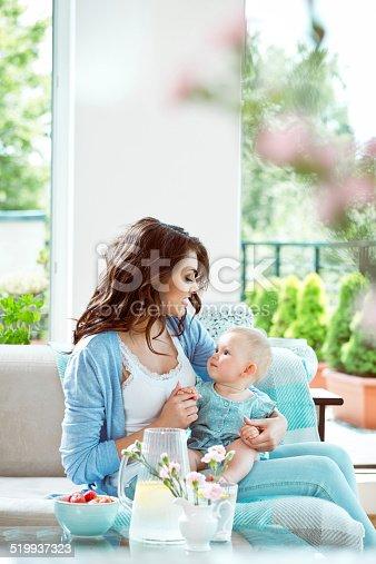 1063760138 istock photo Mother with baby girl 519937323