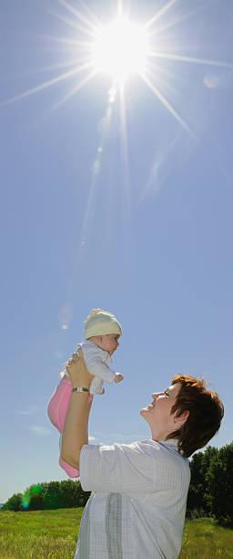 Cтоковое фото Мать с Baby
