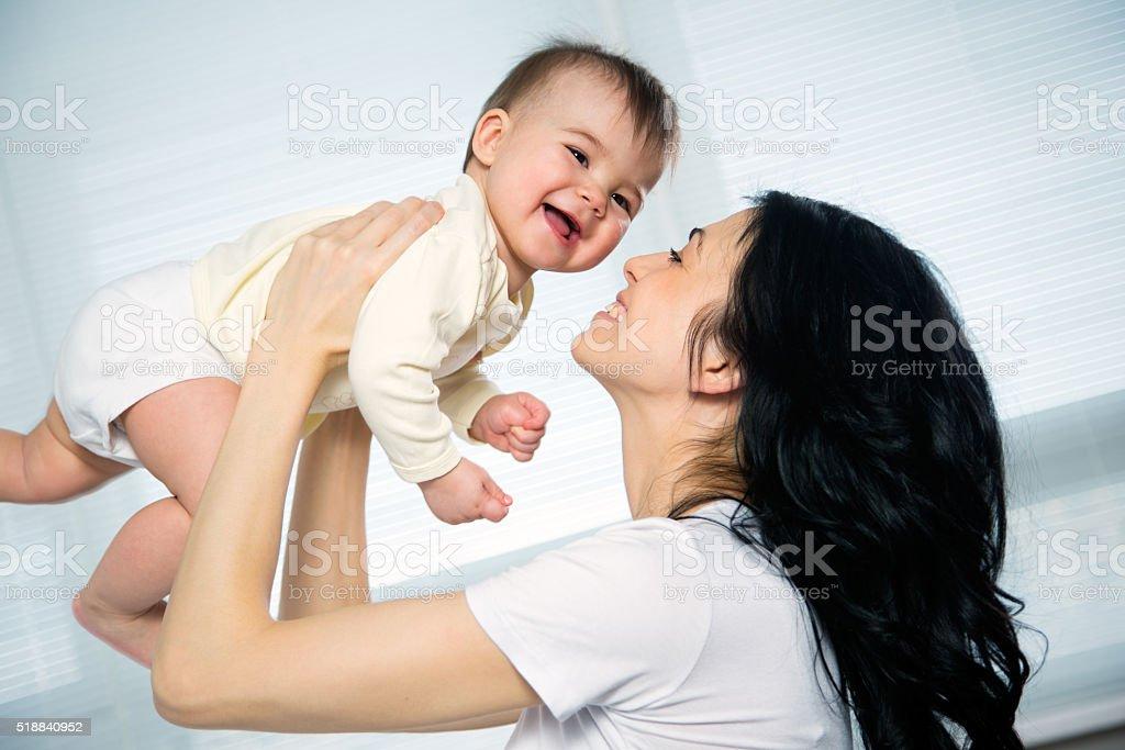 Mutter mit baby – Foto