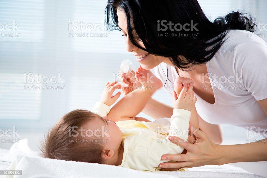 Madre con bambino  foto stock royalty-free