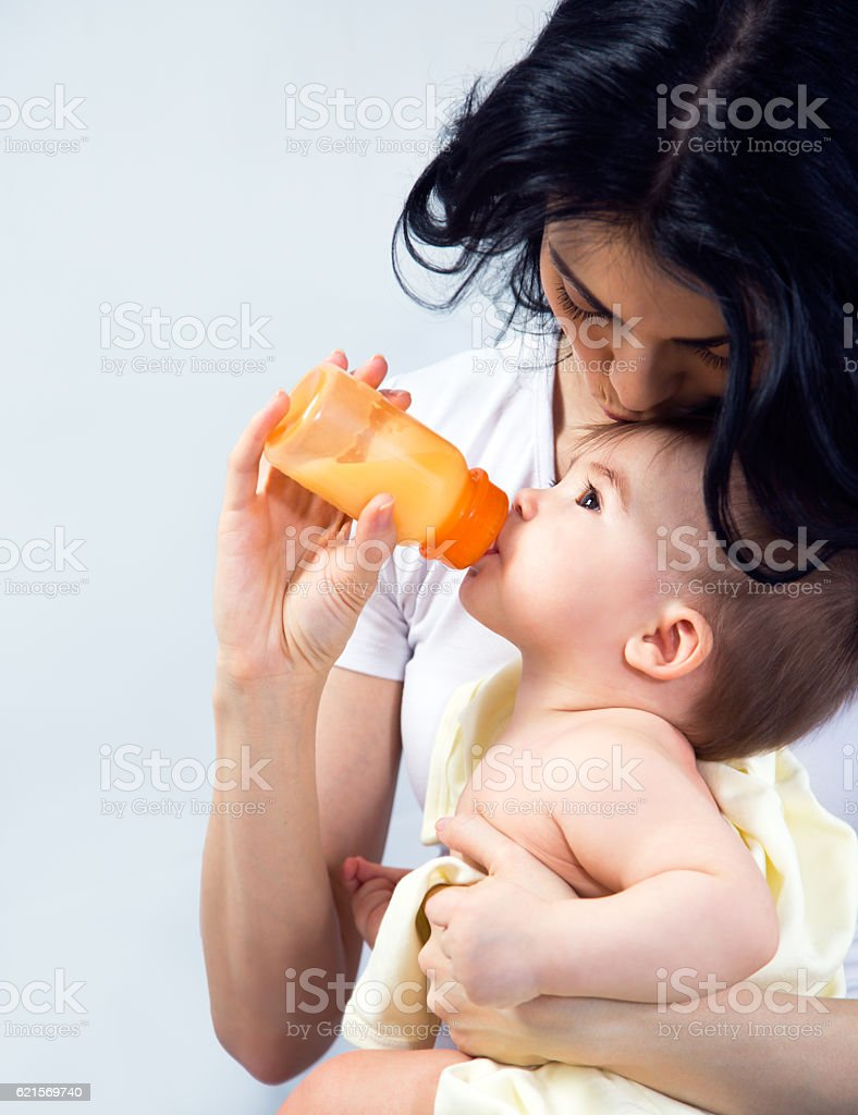 Madre con bambino  foto stock royalty-free