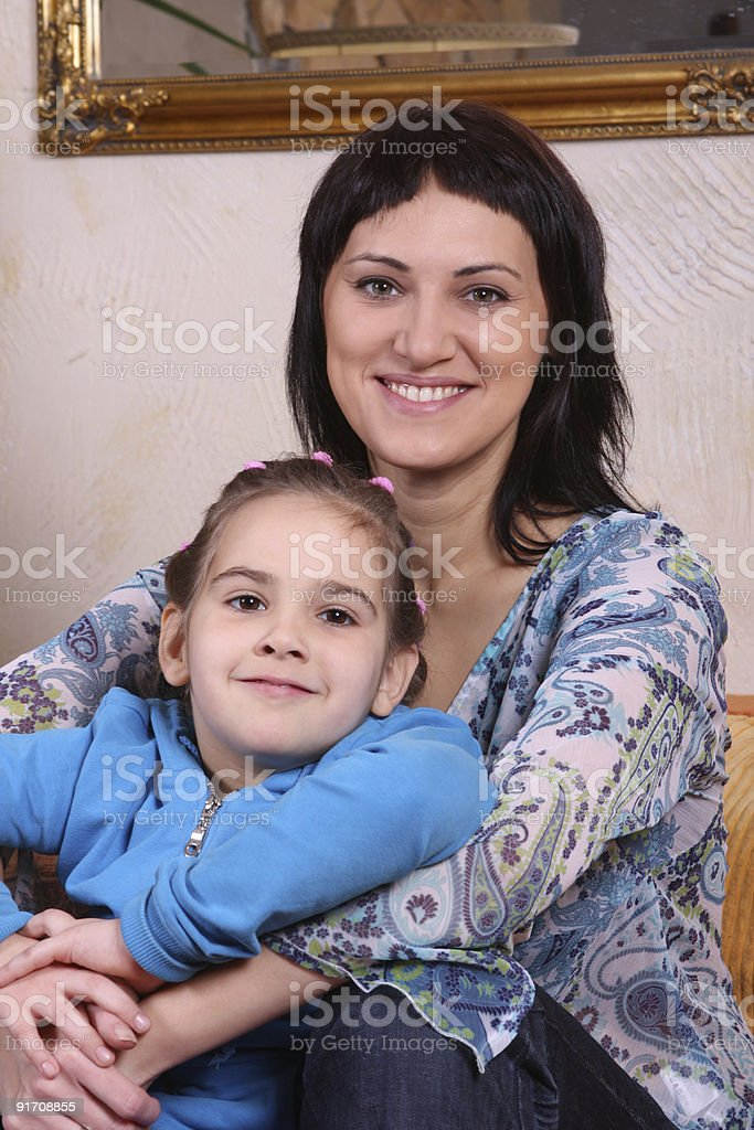 Mother with child royalty-free stock photo