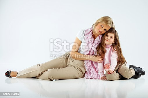 511527698 istock photo Mother with her little girl 156593486