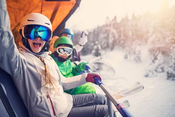 Mother with kids sitting on a ski lift picture id927410780?b=1&k=6&m=927410780&s=612x612&w=0&h=1ebhoxn9mpoesplmtvvdvy3ntbffnxzlaypjwsmzuxa=