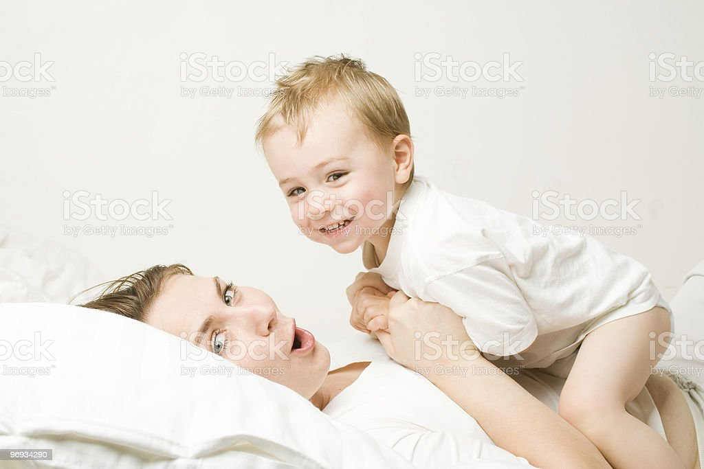 Mother with toddler royalty-free stock photo